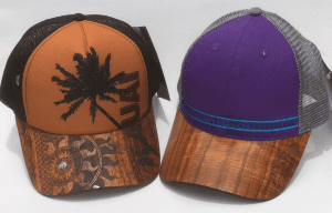Koa Wood Hats
